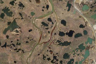 oil spill Russia